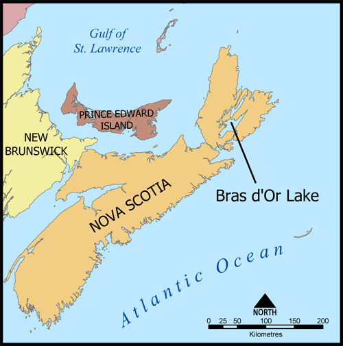 NS - Cape Breton Map