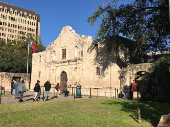 Alamo Church Entrance