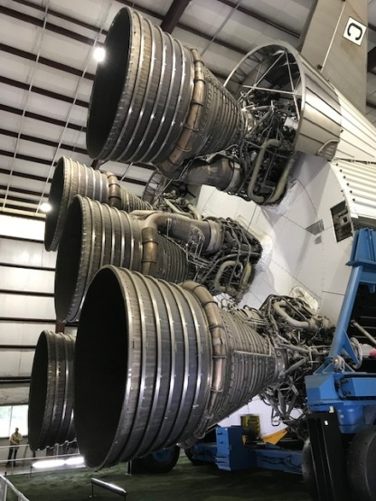 Saturn V Stage 1 Rockets